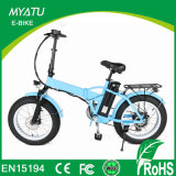 """20 """"Foldable Electric Fat Bike with TUV Rheiland Certification"""