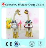 Wholesale Room Decoration Couple Resin Duck Figurines