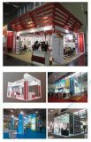 International Column Extrusion Prism Exhibition Stand Glass Booth