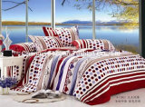 Printed Microfiber Quilt Cover Faric for Bedding Set
