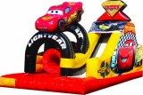 Outdoor Big Inflatable Cars Challange Slide for Sale