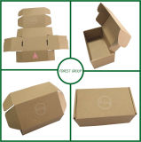 Brown Kraft Logo Printing Corrugated Box Factory