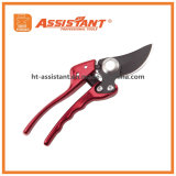 Drop Forged Aluminum Bypass Pruning Shears with Ergonomic Handles