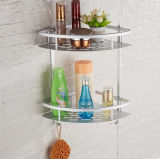 Bt118 Space Aluminum Double Corner Shelf Space