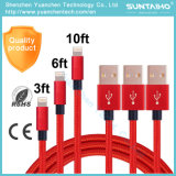 1m/2m/3m Sync Data Fast Charging USB Cable for iPhone