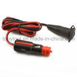 12V Car Cigarette Lighter Socket Extension Cord