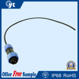 LED Connector Plug in Switch Integrated Connection Wire