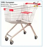 100L European Style Shopping Cart Shopping Trolley