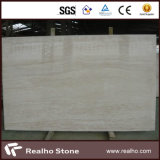 Imported Polished Super White Travertine Slabs for Floor/Wall
