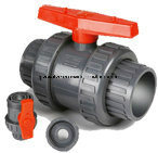 PVC TRUE UNION BALL VALVE DIN ANSI JIS STANDARD