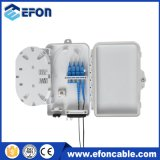 4 Core FTTH Mini Fiber Optic Terminal Box with PC/ABS Material