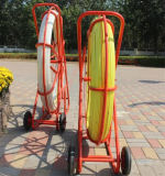 Copper Wire Inside Traceable Fiberglass Duct Rodders for Telecom