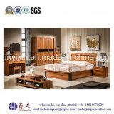Modern Home King Size Bed Melamine Bedroom Furniture (SH-016#)
