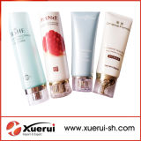Empty Round Shaped Plastic Soft Tubes Packaging, Cosmetic Packing Tube