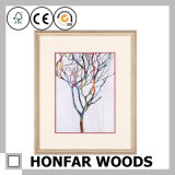 Modern Colorful Tree Art Painting for Hotel Decoration