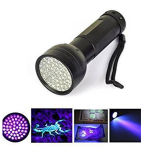 Ultra Violet 51 UV LED Flahlight Torch Scorpion Detector Finder Black Flashlight Lamp
