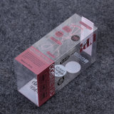 fashion clear foldable cosmetic packaging box