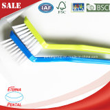 Plastic Dish Cleaning Brush Used in Kitchen