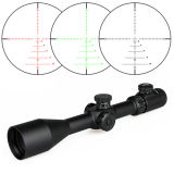 Airsoft 6-24X50 Adjustable Tactical Military Combat Side Focus Riflescope with Tri-Illuminated Reticle Army Assault Hunting