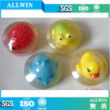 Natural Handmade Rotundity Transparent Soap with Toy
