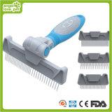 Head Changeable Comb Dog Slicker Brush Pet Brush