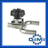 Sanitary Stainless Steel U-Type Diaphragm Valve Vdu