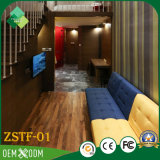 Neo-Chinese Style Teak Business Suite Hotel Furniture Bedroom Sets (ZSTF-01)