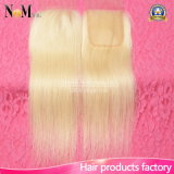 Platinum Blonde Lace Closure Honey 613 Color Remy Human Hair Lace Closure