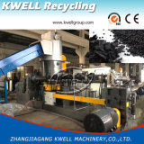 Plastic Recycling/PE PP Double Stage Noodle Cutting Granulating Line