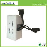 English British Style HDMI VGA USB Printing Faceplate Socket Switch