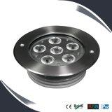 6W/18W IP67 LED Floor Light Stainless Housing, LED Underground Lighting