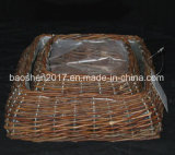 Willow Basket for Garden