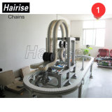 Hairise Motorized Clean Room Round Belt Maintenance Conveyor