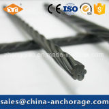 Low Relaxation 12.7mm PC Strand for Bridge and Building