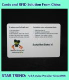 Donation Card Made Plastic with Magnetic Stripe