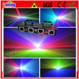 Four Tunnel DMX Colorful Laser Lighting Event