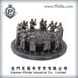Knights of The Round Table Figurines, Polyresin Statue Sculpture