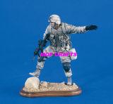 Polyresin Soldier Statue, Resin Soldier Sculpture