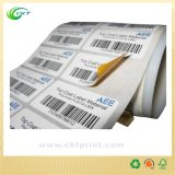 Waterproof Adhsive Stickers Paper Label (CKT-LA-401)