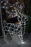 Christmas Extension Cord Deer Festivals Outdoor LED Light