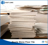600X600 Quartz Stone Floor Tile for Building Material with 12mm Thickness (Single colors)