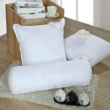Candy Pillow White Bedding Cushion for Hotel Home (DPF10308)