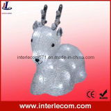 Christmas Reindeer with Decoration Christmas LED Light (PRO1)