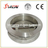 Stainless Steel Double Disc Wafer Swing Check Valve