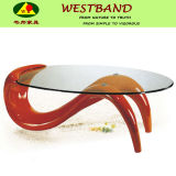 Contemporary Cheap Oval Glass Coffee Tables
