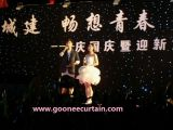 LED Star Curtain Cloth for Stage Performance (GO-203)