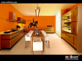 ISO Welbom Modern Metallic Spray Kitchen Cabinet