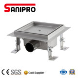 Fast Flowing 304 Stainless Steel Shower Drain Grate Cover