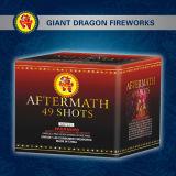 49 Shot Cake Fireworks/Battery of Shot Tube Gd8491