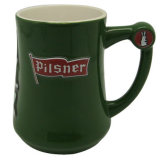 Wholesale Green Beer Ceramic Mug